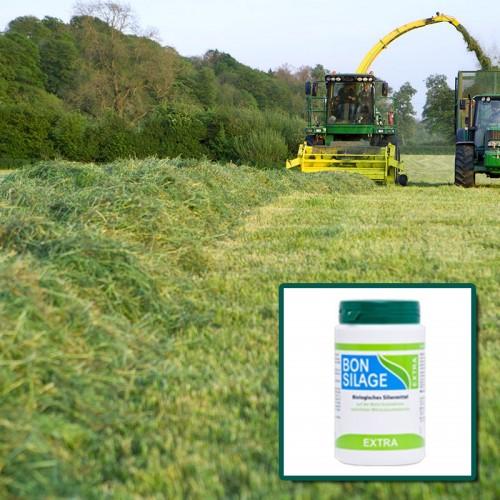 Bonsilage Extra ® Pour les fourrages d'herbes et graminées riches en glucides.