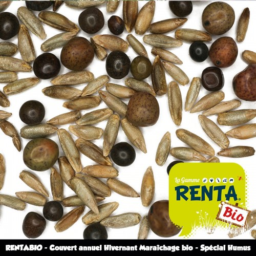 RENTABIO - Couvert annuel Hivernant Maraîchage bio - Spécial Humus *