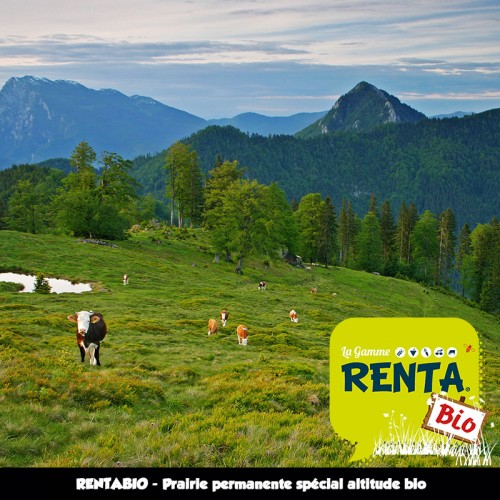 RENTA BIO - Mélange Prairie Permanente Spécial Altitude (minimum 70%) **