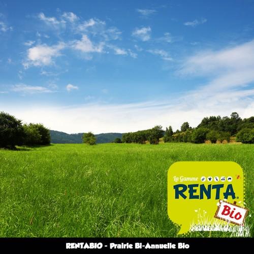 RENTA BIO - Prairie Biannuelle (minimum 70% Bio) **