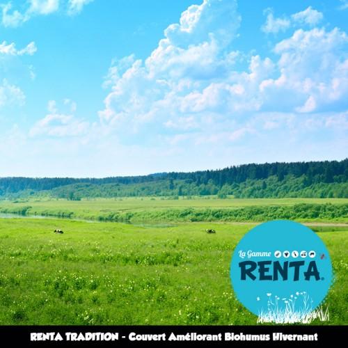 RENTA TRADITION - Couvert Améliorant Biohumus Hivernant