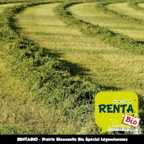 RENTA BIO - Mélange Prairie Biannuelle Spécial Légumineuses (minimum 70% Bio) **