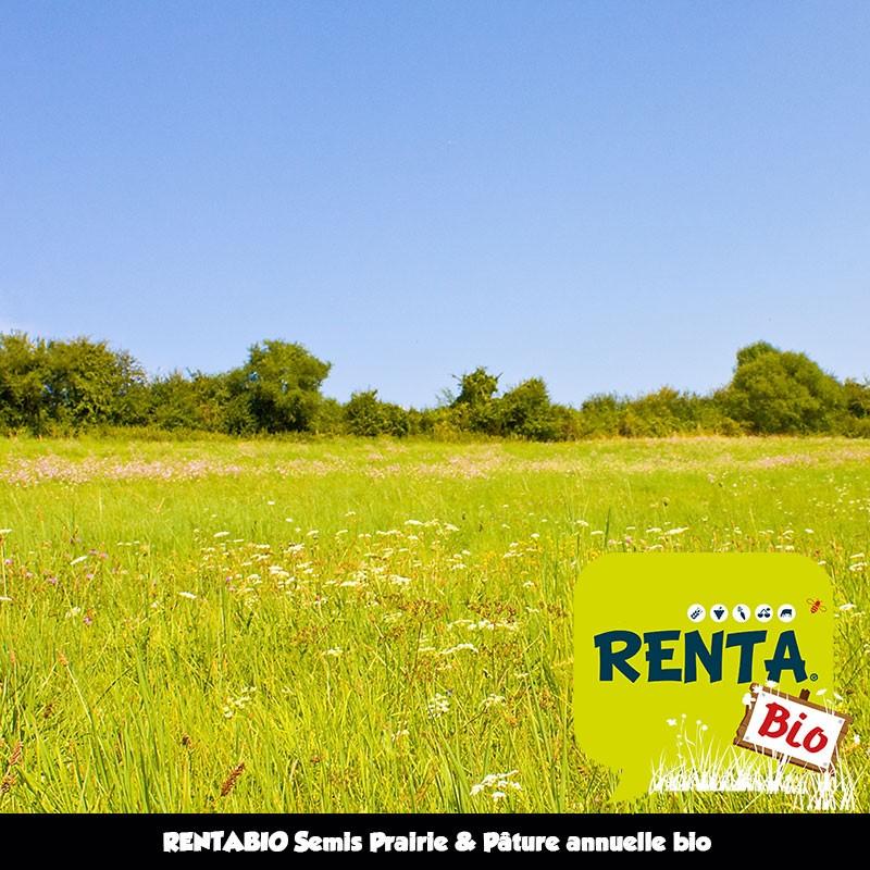 RENTABIO Semis Prairie & Pâture annuelle bio